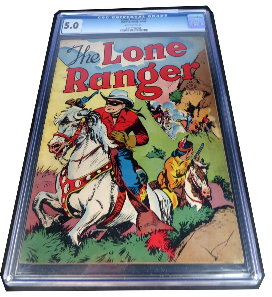 Lone Ranger #1 Jan 1948 CGC Graded 5.0