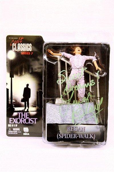 Linda Blair Signed The Exorcist Regan Action Figure