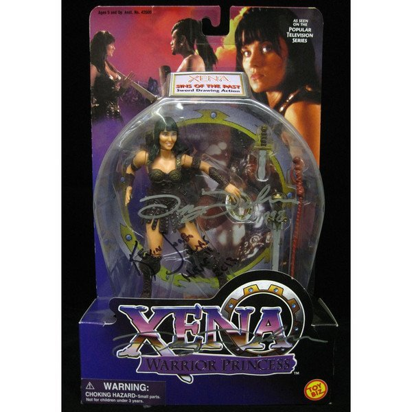 Lucy Lawless & Kevin Sorbo Signed Xena Warrior Princess