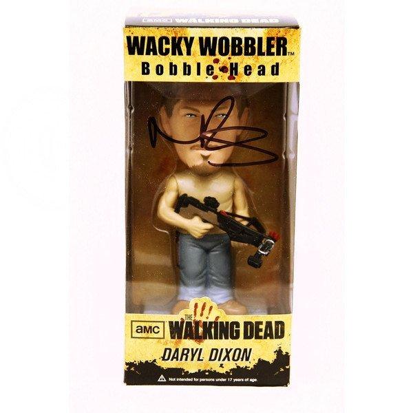 Norman Reedus Signed Walking Dead Daryl Dixon Figure