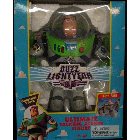 Tim Allen Signed Toy Story Buzz Lightyear Figure