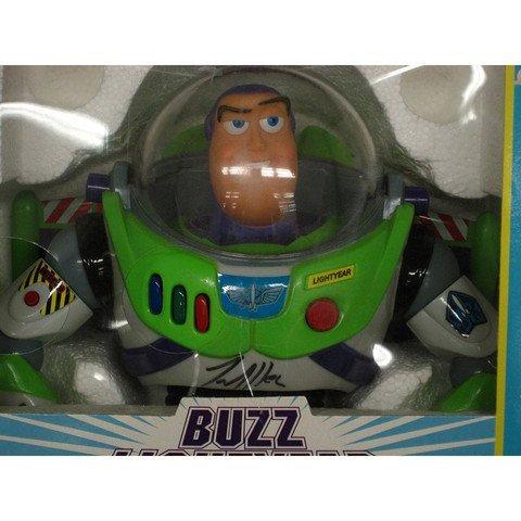 Tim Allen Signed Toy Story Buzz Lightyear Figure - 2