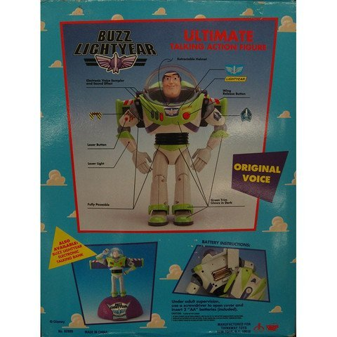 Tim Allen Signed Toy Story Buzz Lightyear Figure - 3