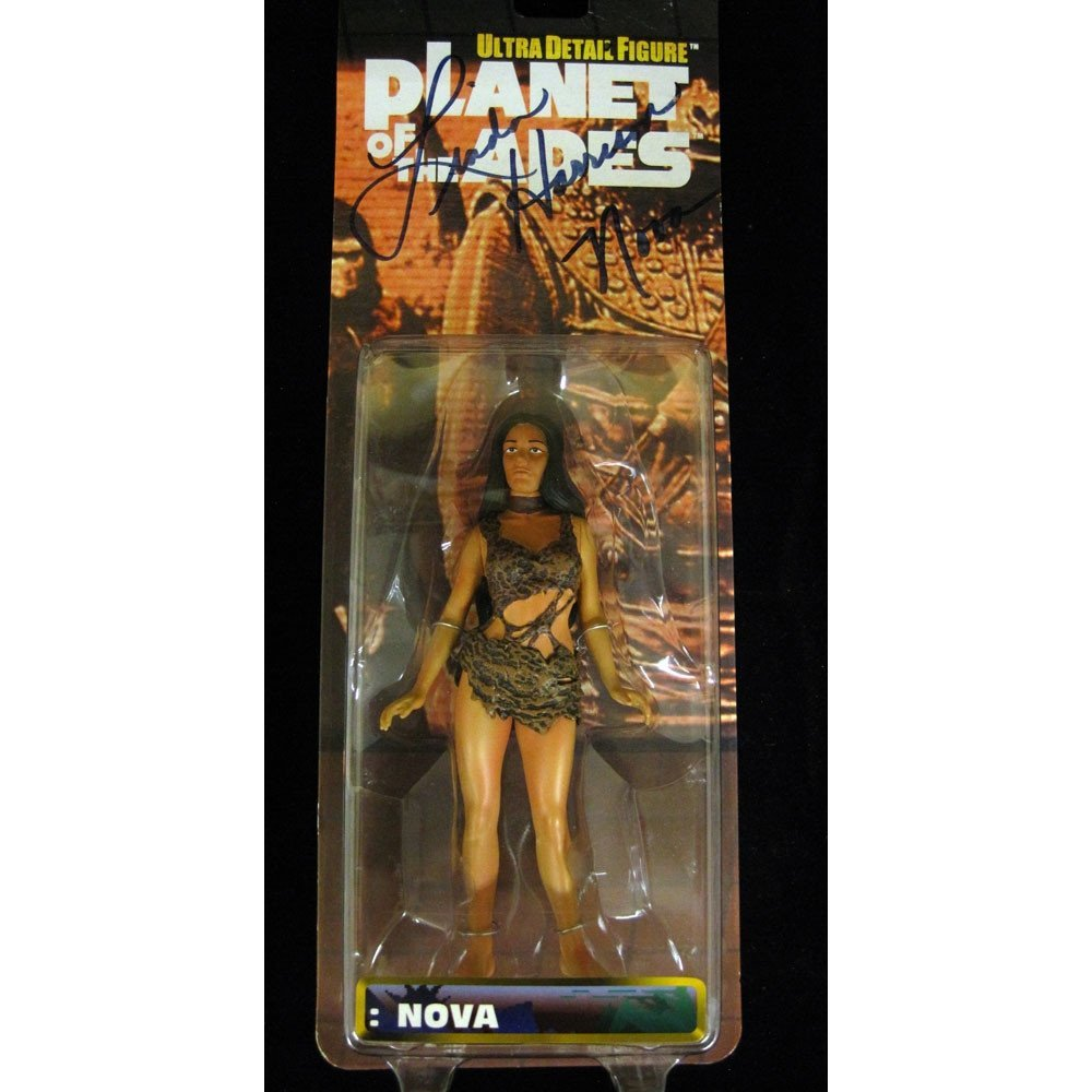 Linda Harrison Signed Planet Of The Apes Nova Figure