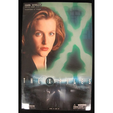 Gillian Anderson Signed X-Files Dana Scully Figure