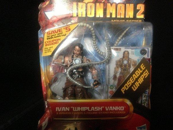 Mickey Rourke Signed Iron Man 2 Ivan Vanko Figure - 5