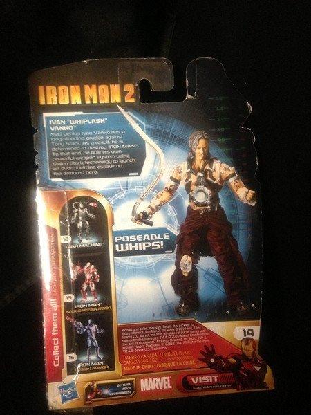 Mickey Rourke Signed Iron Man 2 Ivan Vanko Figure - 7