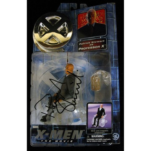 "Patrick Stewart Signed X-Men Professor X 6"" Figure"