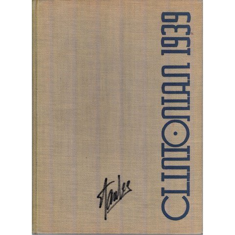 Stan Lee Signed DeWitt Clinton 1939 Yearbook