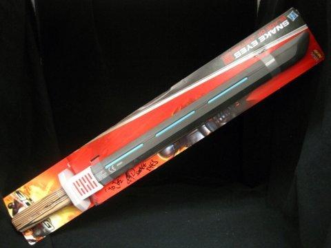 Ray Park Signed G.I. Joe Retaliation Snake Eyes Sword