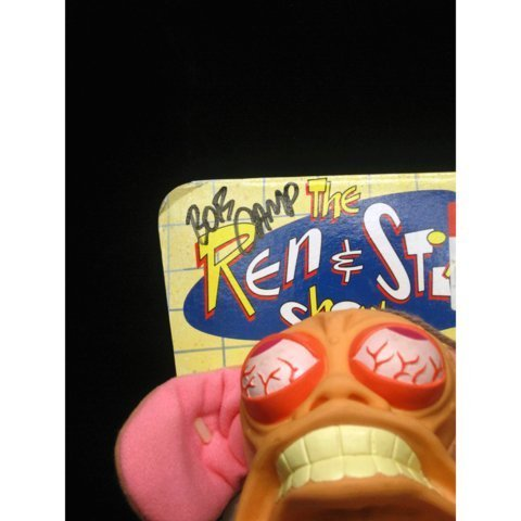 Bob Camp Signed Ren & Stimpy Show Ren Plush - 5