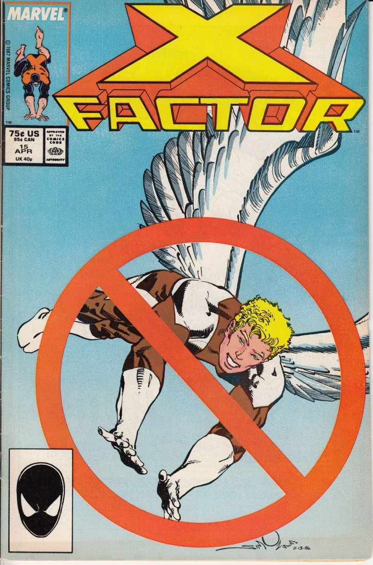 X-Factor Issue #15 April 1987