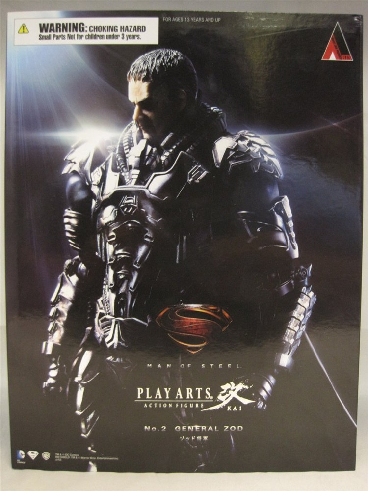 Michael Shannon Signed Man of Steel General Zod Fig.