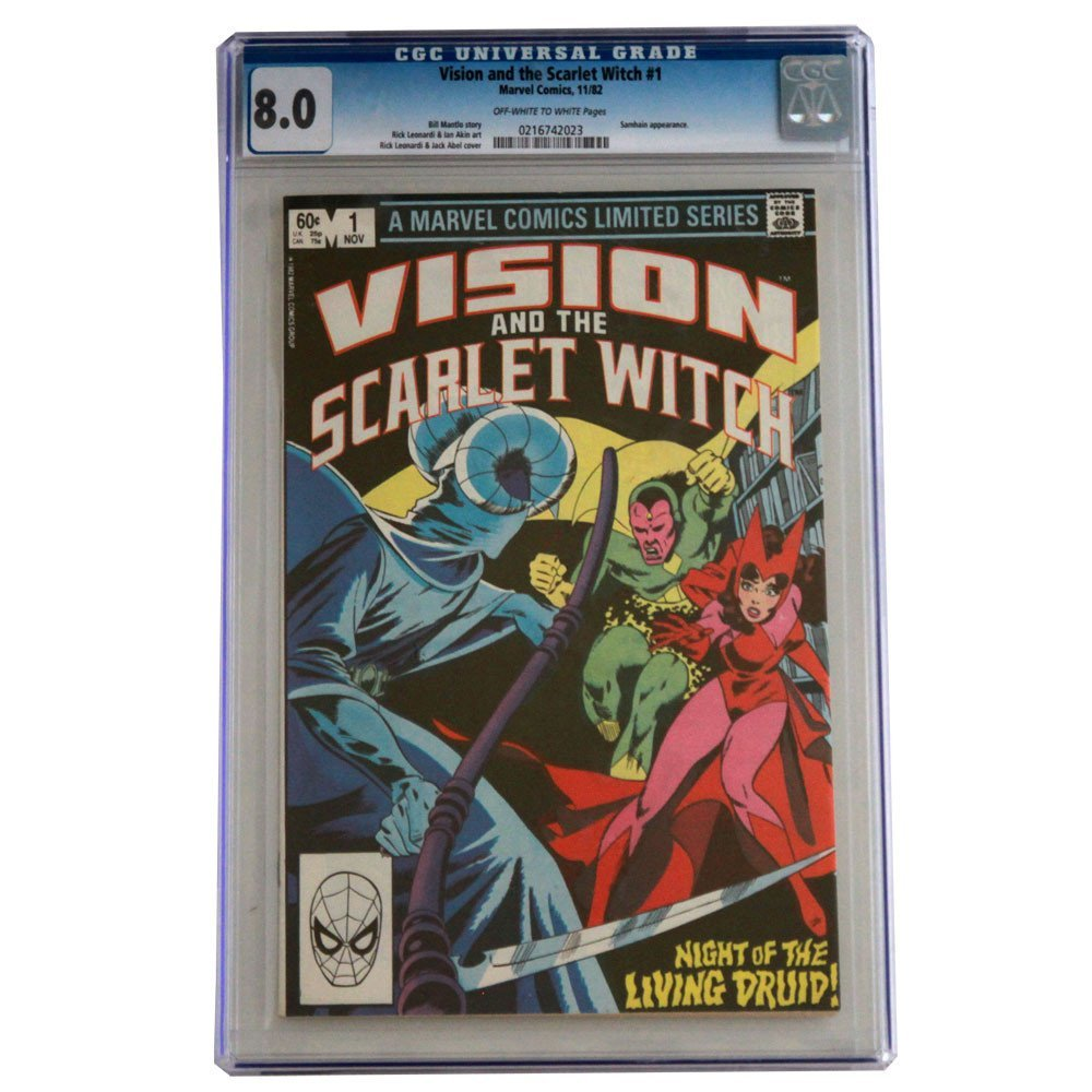 Vision and the Scarlet Witch Issue #1 1982 CGC Graded