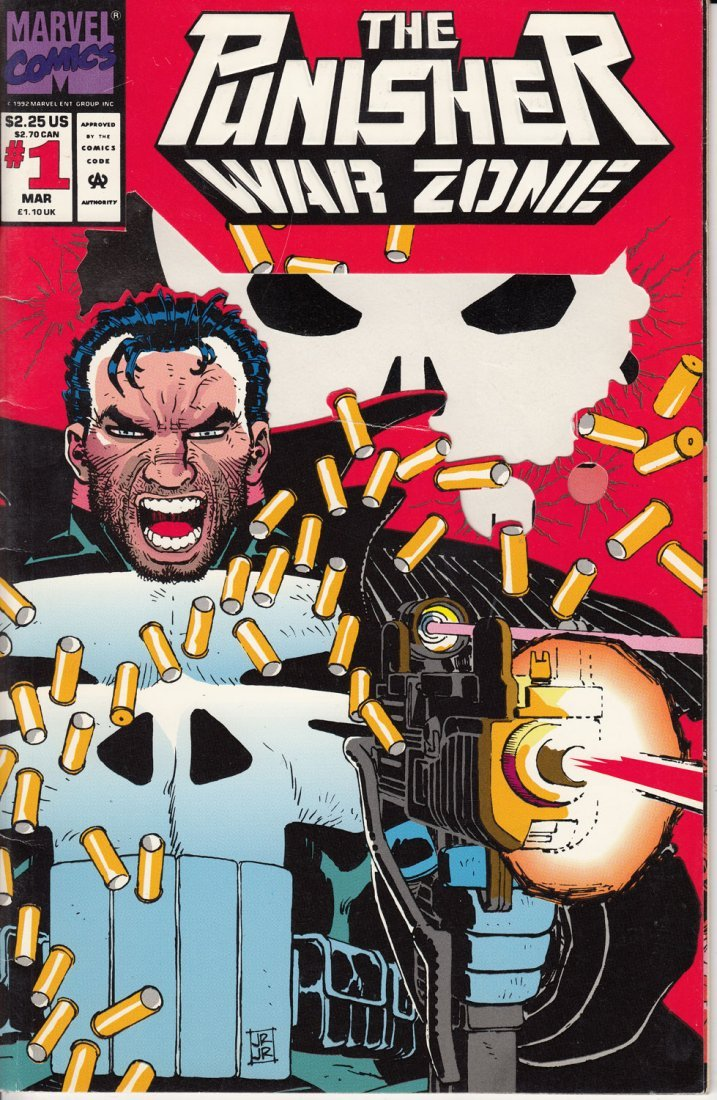 The Punisher War Zone Issue #1 March 1992
