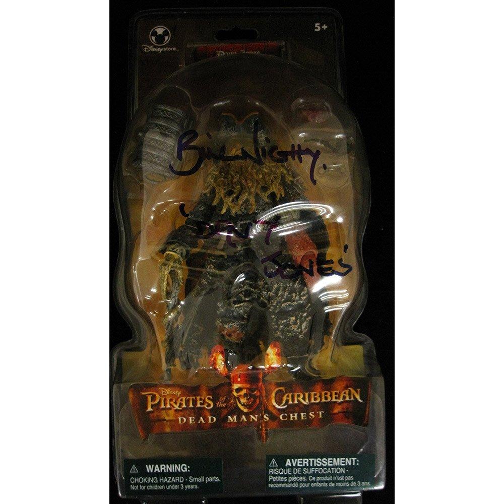 Bill Nighy Signed Davy Jones Figure