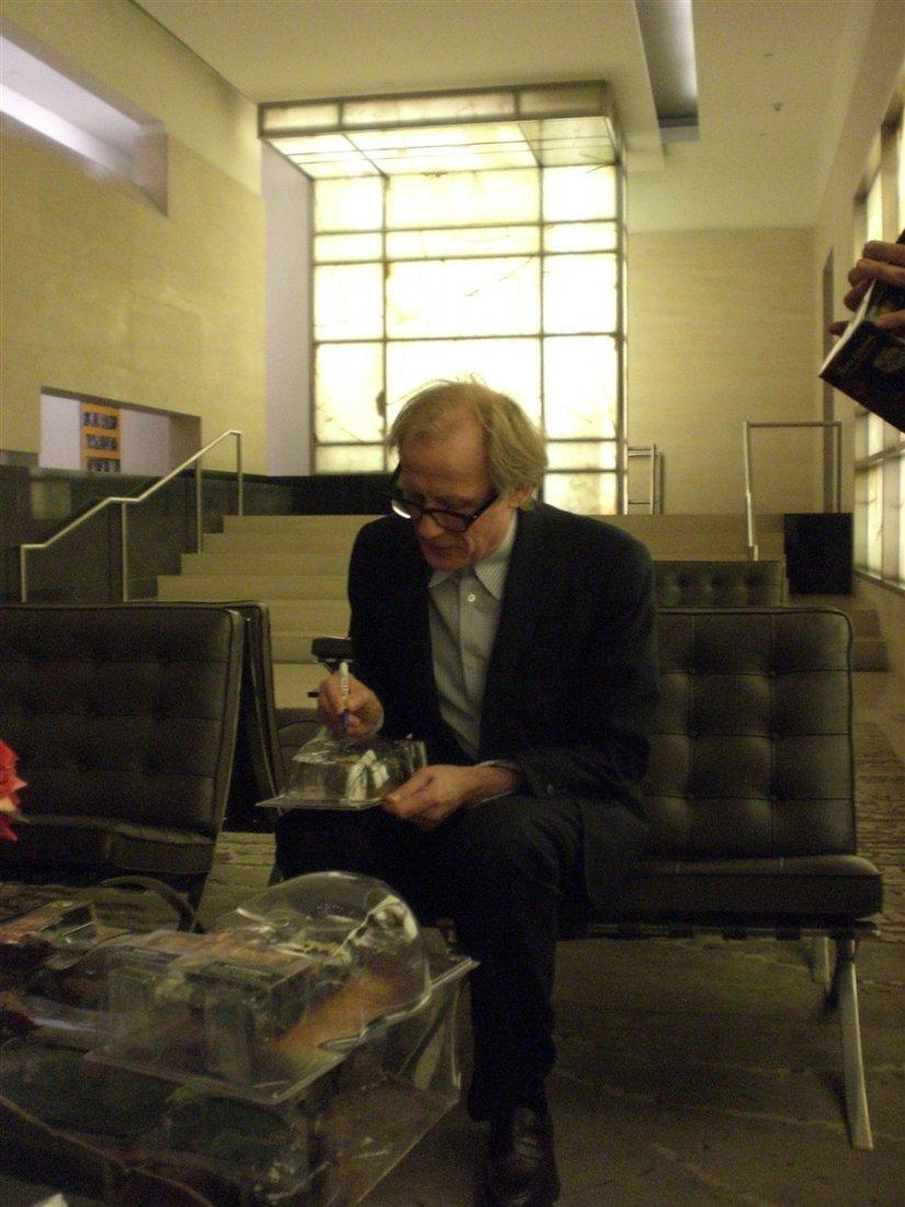 Bill Nighy Signed Davy Jones Figure - 2