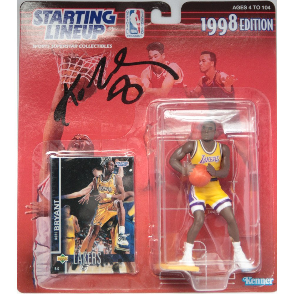 Kobe Bryant Signed 1998 Starting Lineup Figure