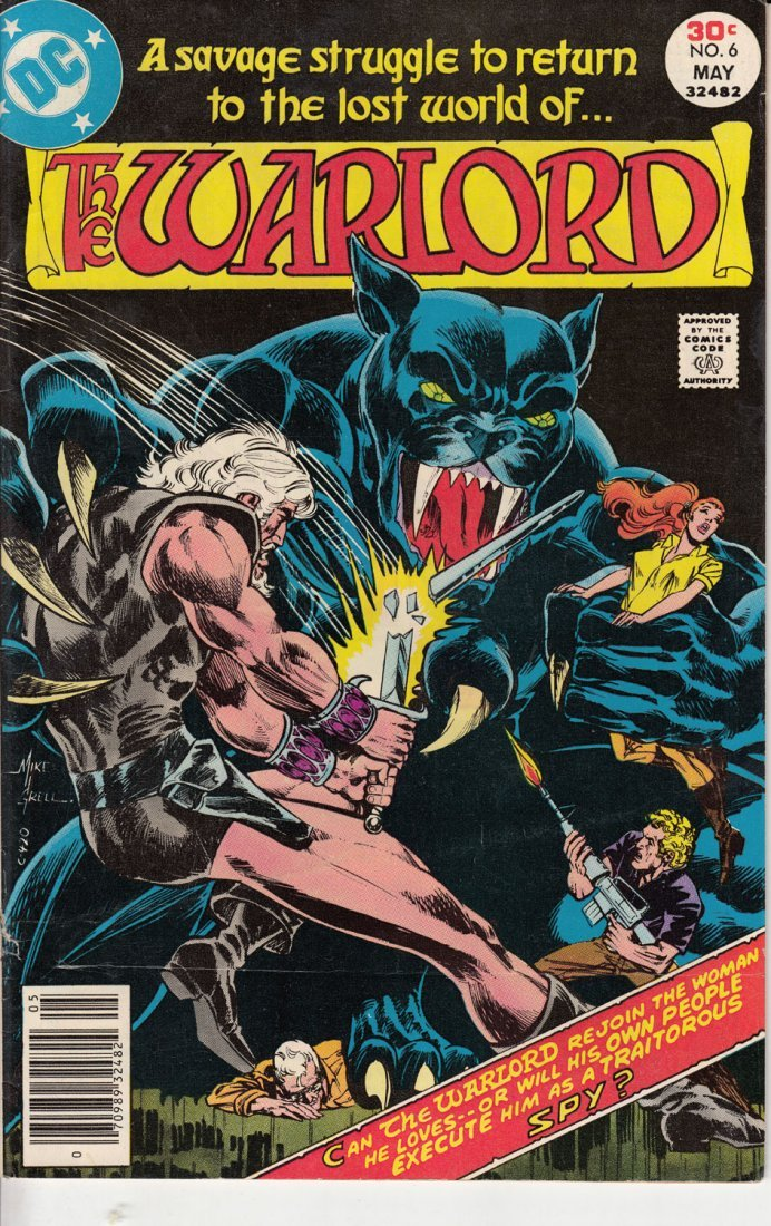 The Warlord Comic Issue #6 May 1977