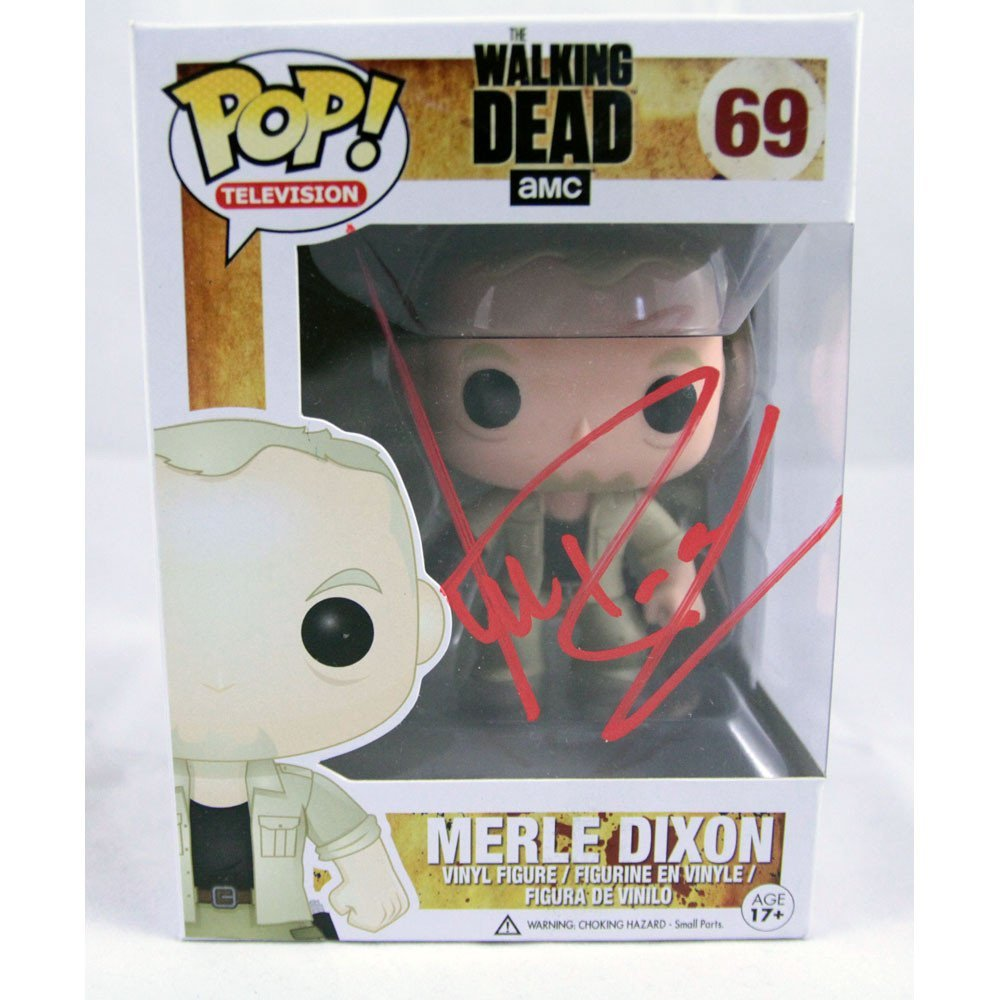 "Michael Rooker Signed Merle Dixon 4"" Pop Figure"