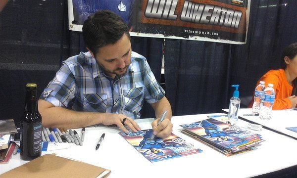 "Comic Wil Wheaton Signed Young Justice 4"" Action Figure - 3"