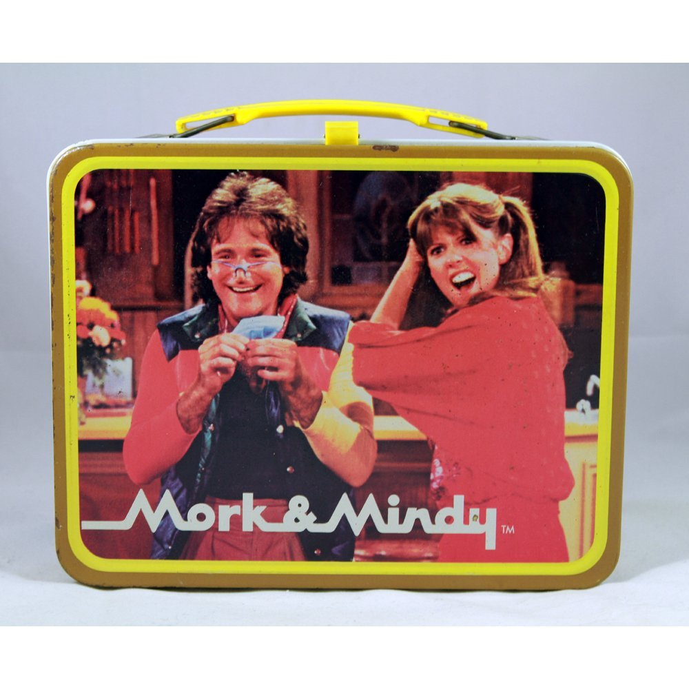 Vintage Mork & Mindy 1979 Lunchbox(Good)