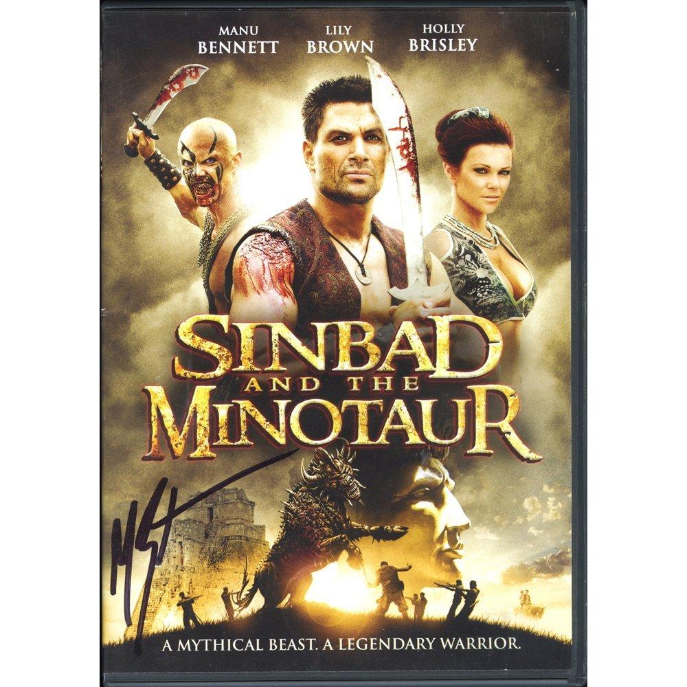Manu Bennett Sig Sinbad & The Minotaur DVD(Excellent)