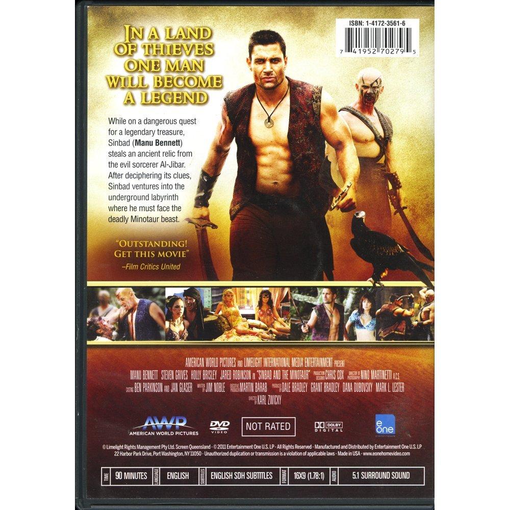 Manu Bennett Sig Sinbad & The Minotaur DVD(Excellent) - 2