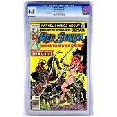 Red Sonja Comic Issue #7 1978 CGC Graded 6.5