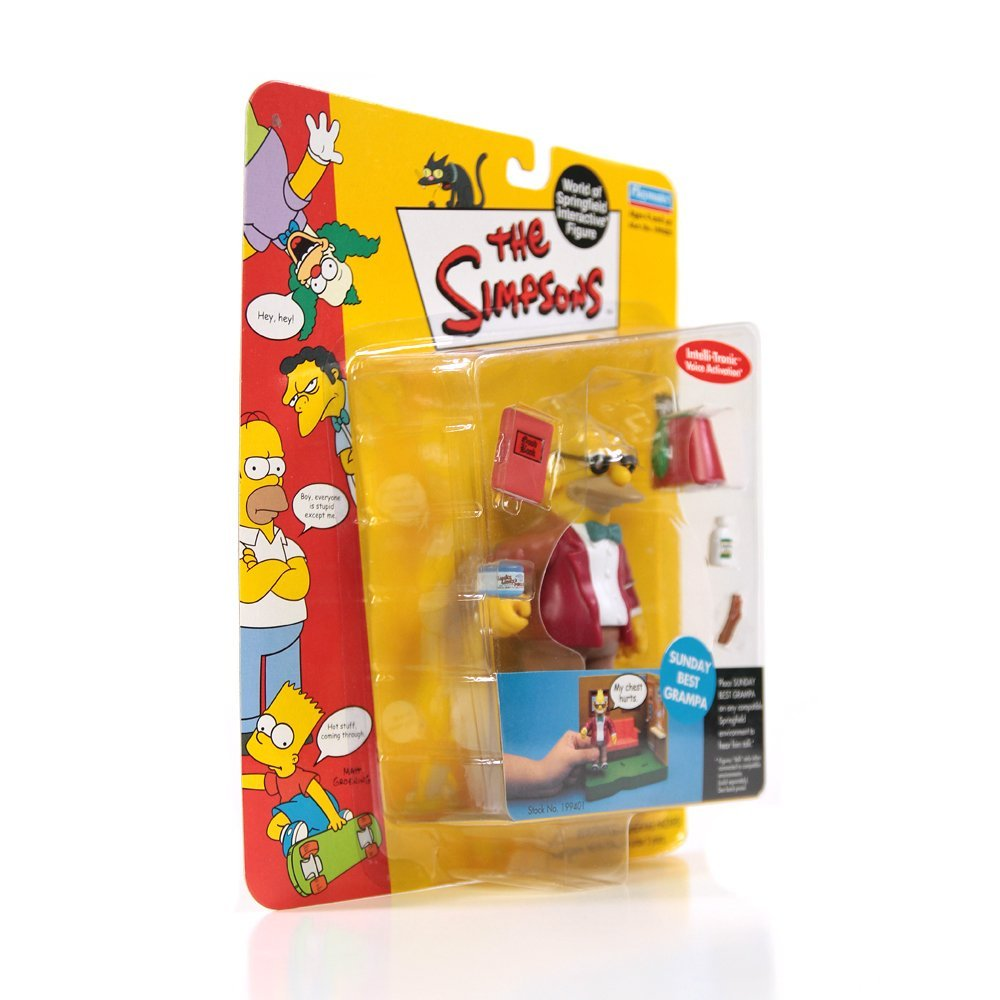 Playmates The Simpsons Grampa Figure Series 9(Ex) - 2