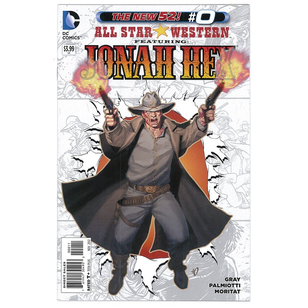 All Star Western Ft Jonah Hex #0 Nov 2012 DC Comics(Ex)