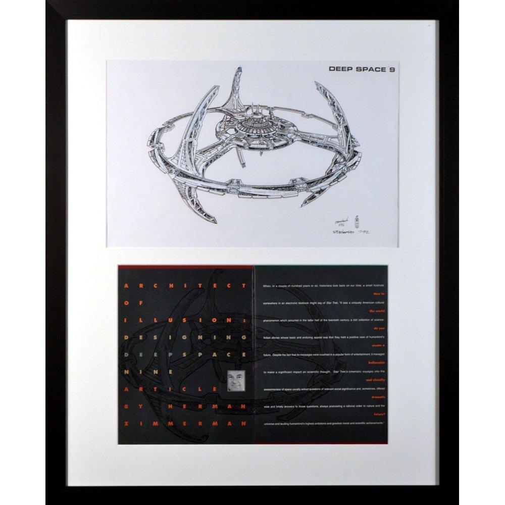 Orig Fmd Ricardo Delgado Concept Art & Mag(Excellent)