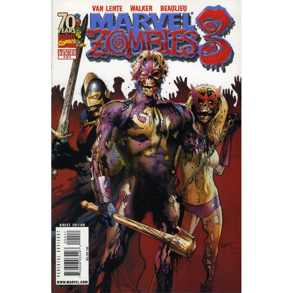 Marvel Zombies 3 #4 March 2009 (Excellent)