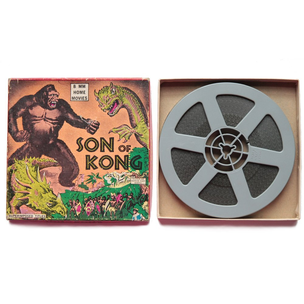 Son of Kong 1933 8mm B&W Film(Good)