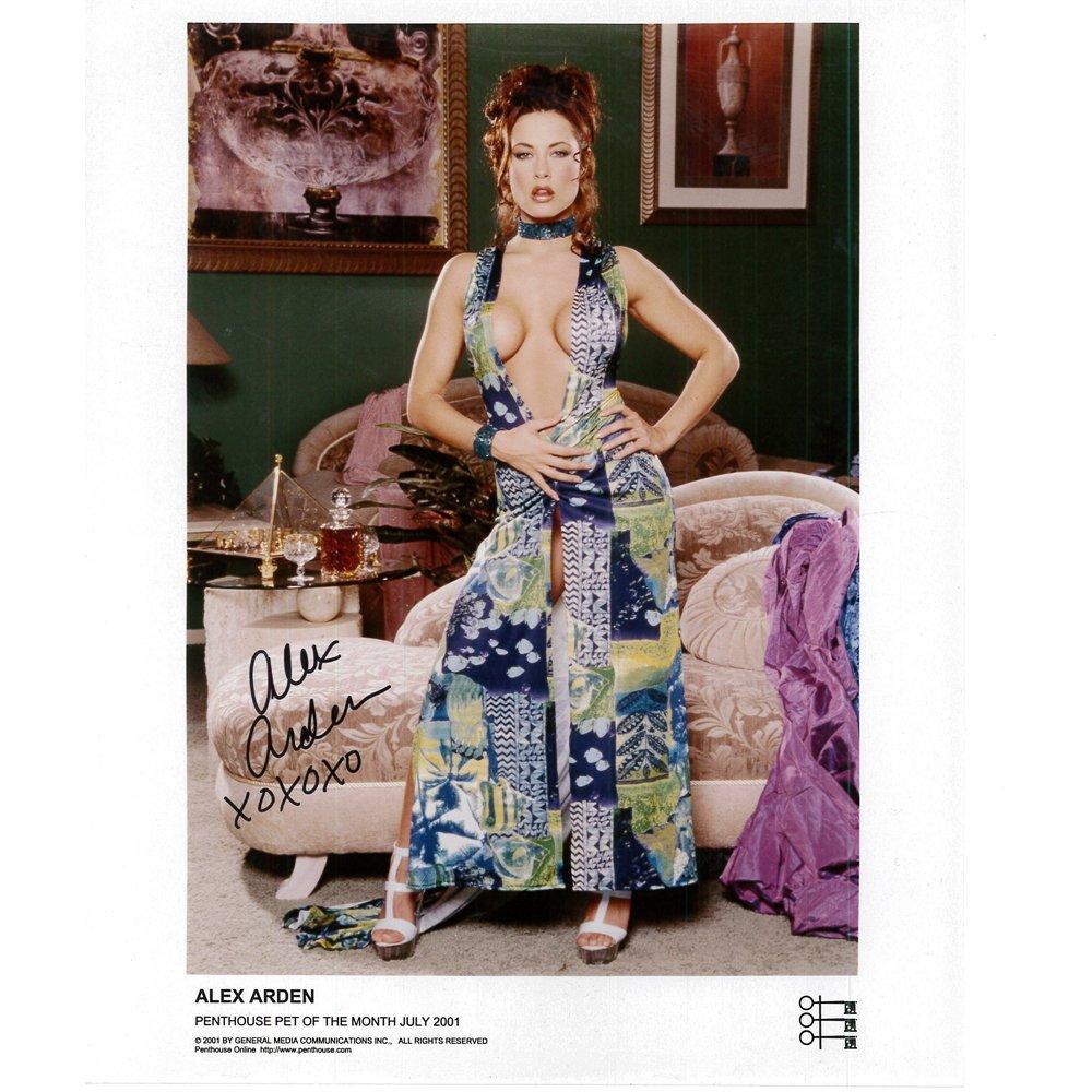 Alex Arden Signed 8x10 Penthouse Publicity Photo(Mint)