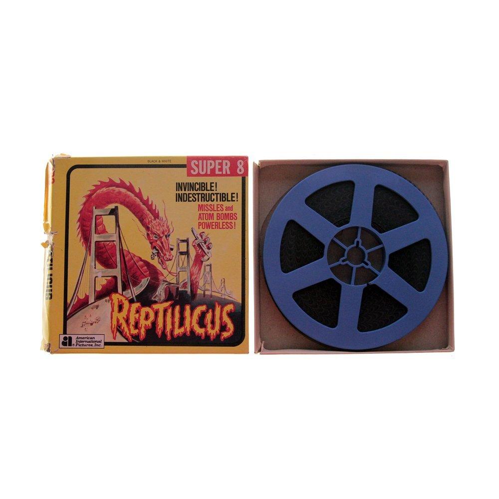 Reptilicus 8mm Film - B&W(Very Good)