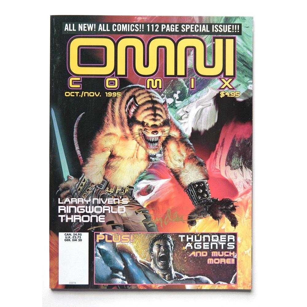 Arthur Suydam Signed OMNI Comix #3 Oct/Nov 1995 (Ex)