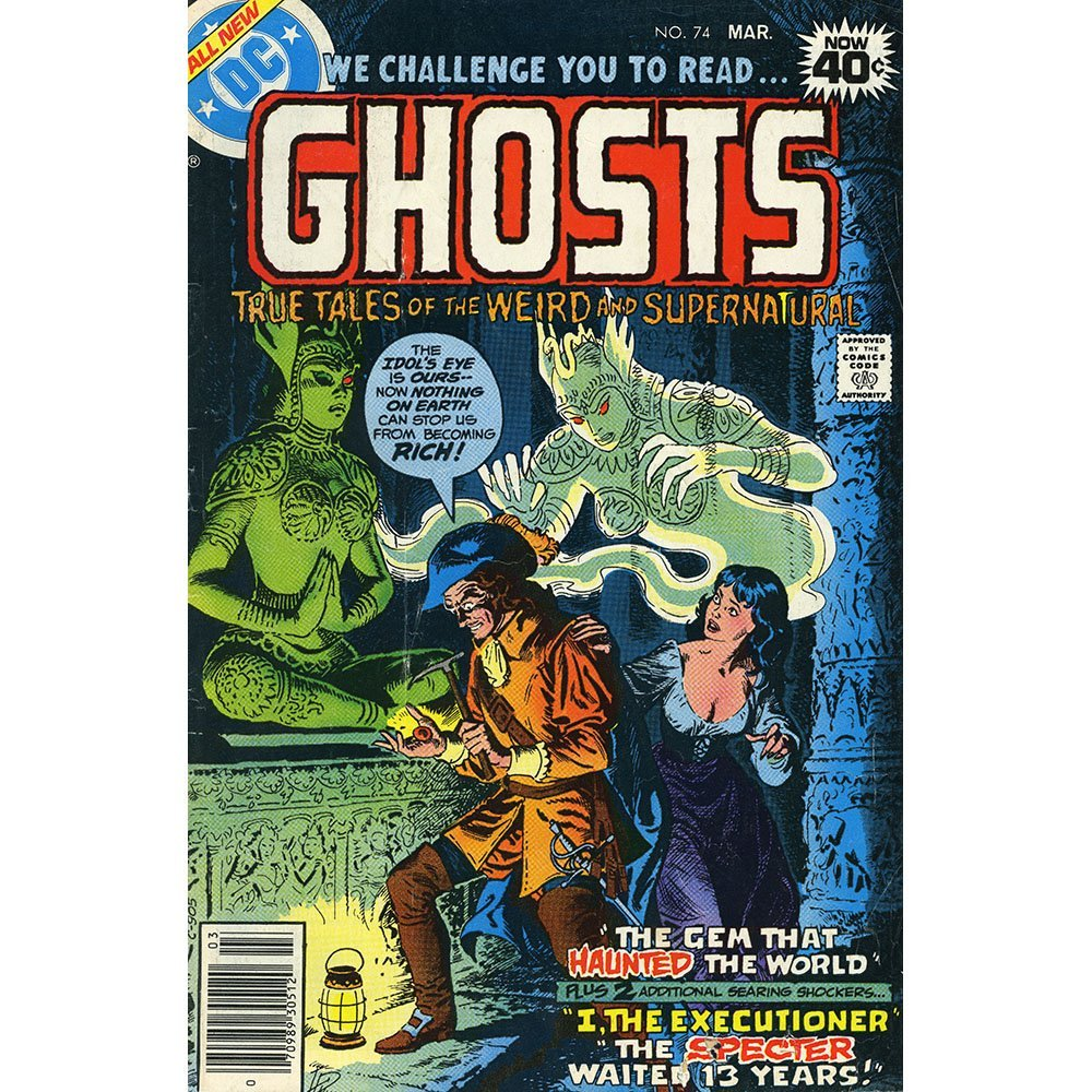 Ghosts No 74 Pub Mar 1979 bby DC Comics(VG)