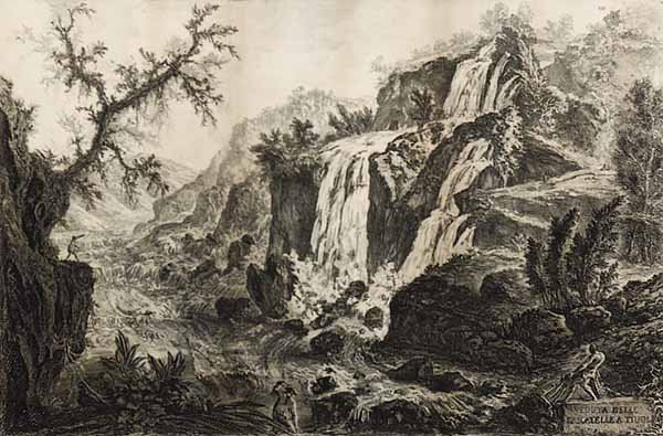 0003: Giovanni Battista Piranesi engraving an drypoint