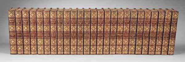0010: The Writings of George Eliot, 25 Volumes, 1907