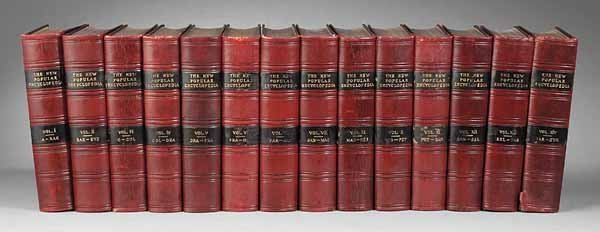 0011: Complete Set Encyclopedia, Gresham, London 1903