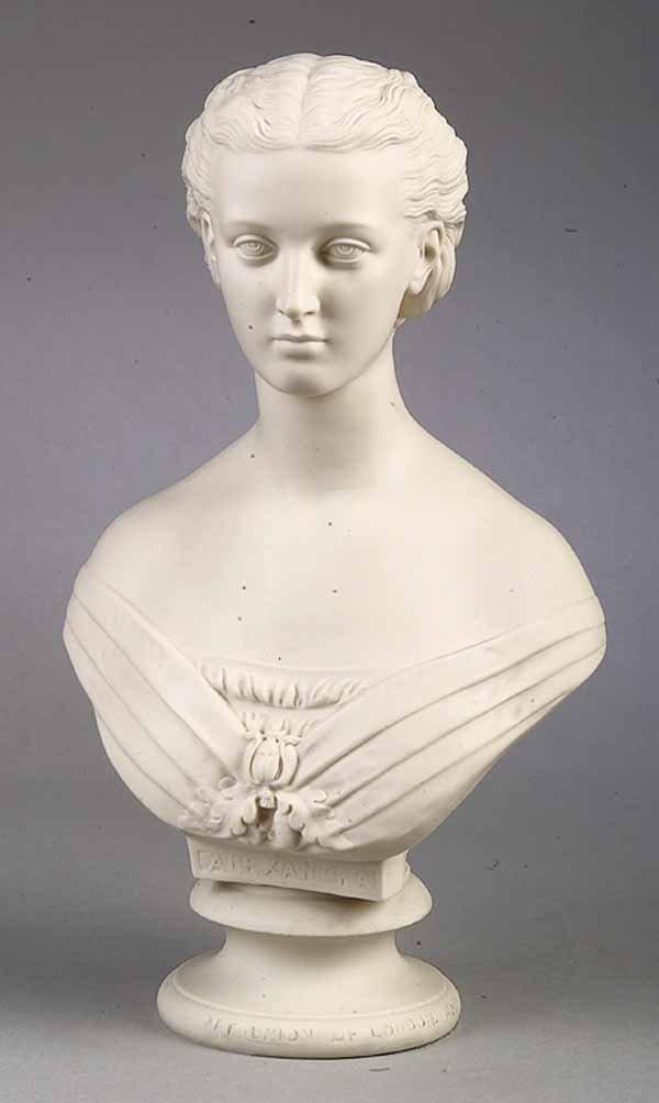 0018: Copeland Spode Bust of Princess Alexandra, 1863