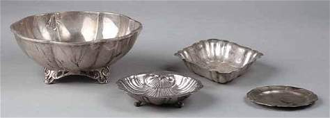 773 Mexican Sterling Silver Lobed Bowl Sanborns