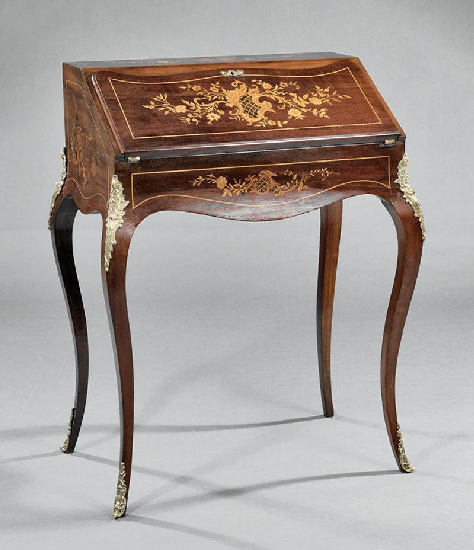 Marquetry Lady's Writing Desk attr. Horner workshop