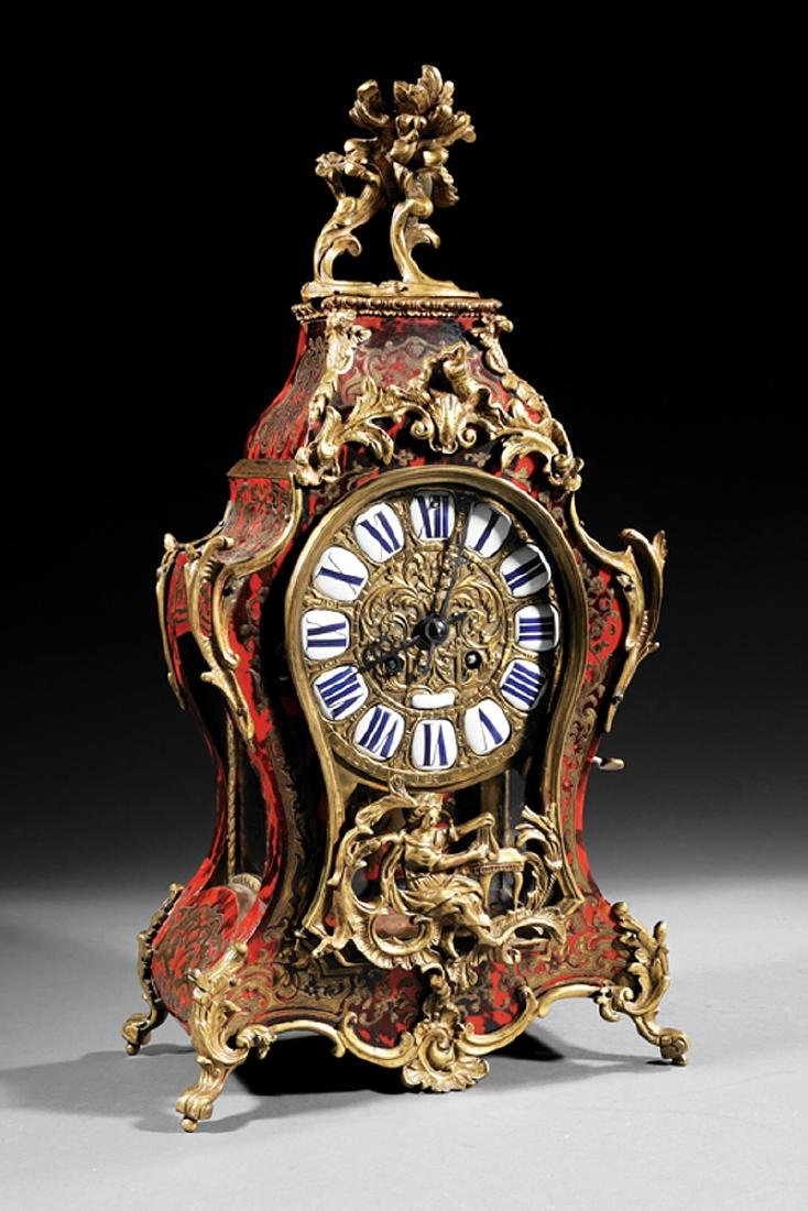 Bronze-Mounted Boullework Bracket Clock