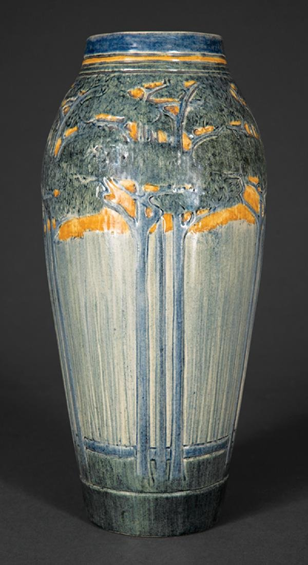 Newcomb College Art Pottery High Glaze Vase