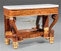 Mahogany Pier Table, attr. J. & J.W. Meeks