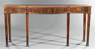 Mahogany Side Table, attr. Schmieg & Kotzian