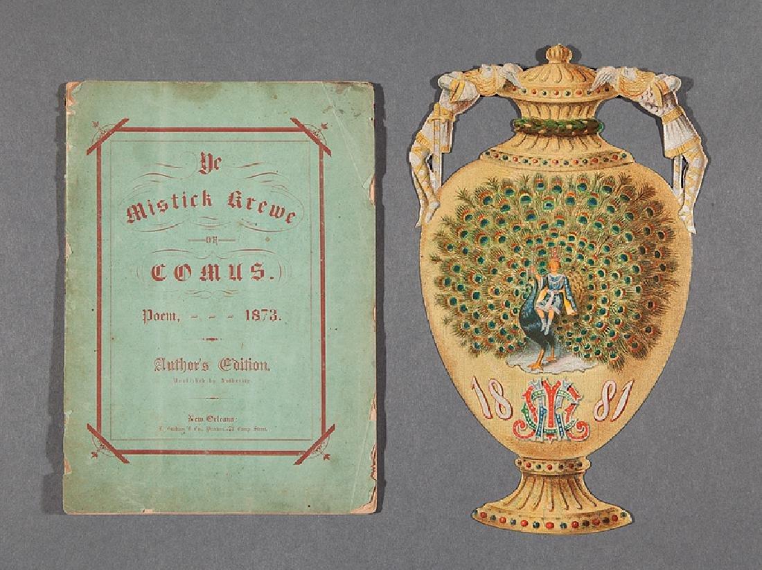 [Mardi Gras] Comus, 1873 Booklet