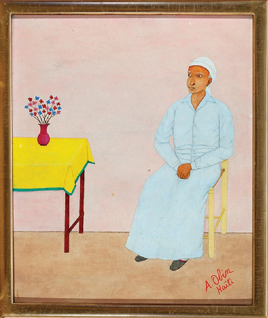 Antoine Obin (Haitian, b. 1929)